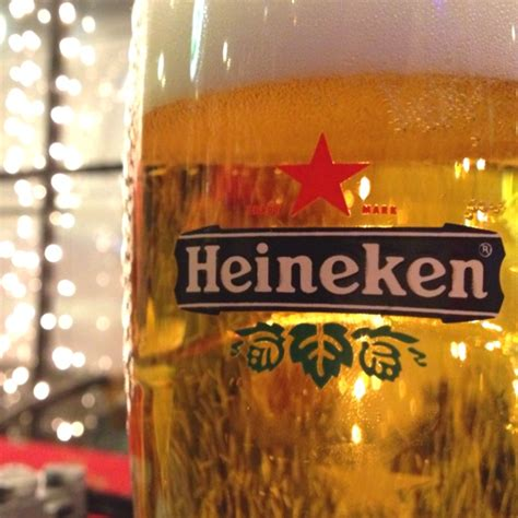Heineken Features You As The by We Are Proud To Feature Heineken On Draft Using The New
