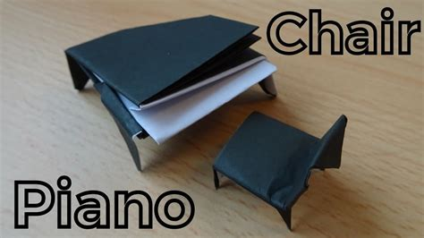 How To Make A Paper Piano - how to make a paper grand piano origami piano