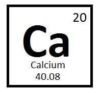 Calcium On Periodic Table by Mr J Villa Calcium Brianne