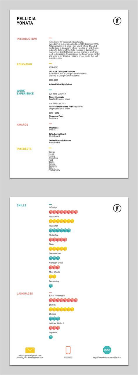 colourful resume templates 43 modern resume templates guru