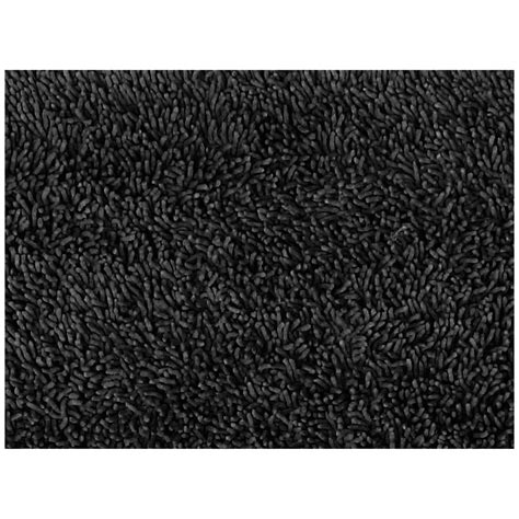 black rug dreamfurniture com l a rugs black shag rug