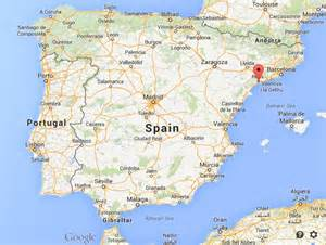 where is salou map spain world easy guides