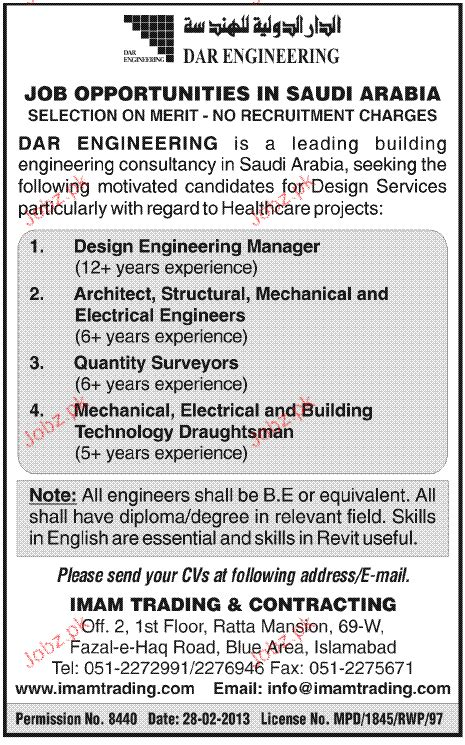 engineering pattern making jobs design engineering manger architect job opportunity 2018