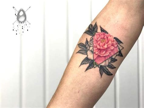 pink triangle tattoo 25 best peonies ideas on flower