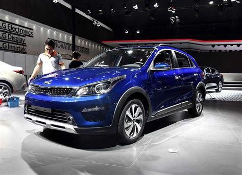 Kia Pegas 2020 Specifications by 2018 2019 Kia K2 Cross Hatchback Kia