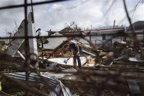 hurricane irma st martin european leaders view caribbean islands devastated by irma