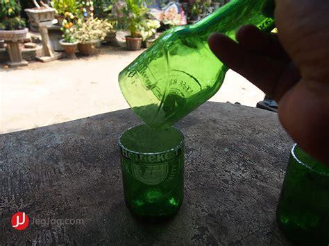 Pemotong Botol Kaca 6 langkah cara membuat gelas dari botol bekas