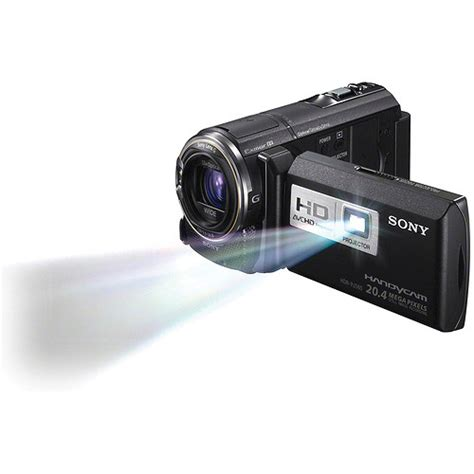 Handycam Sony Plus Proyektor sony hdr pj580v high definition handycam camcorder hdr