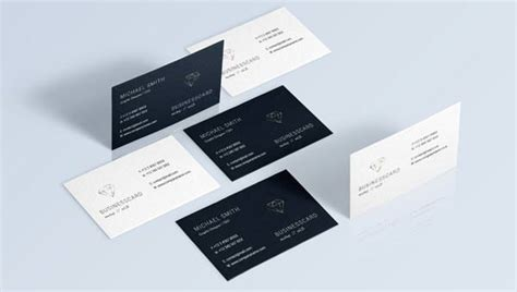 business card presentation template psd 68 best psd business card templates free premium