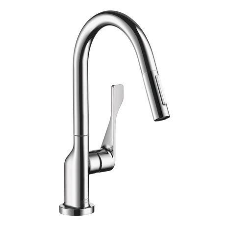 Axor Citterio Kitchen Faucet Axor Kitchen Faucets Axor Citterio Axor Citterio 2 Spray Prep Kitchen Faucet Pull
