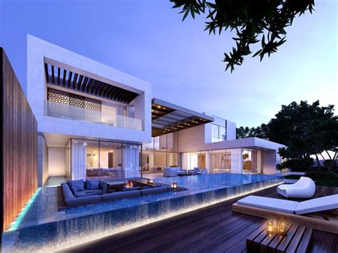 modern luxury villa  jumeirah park wolfgang regner