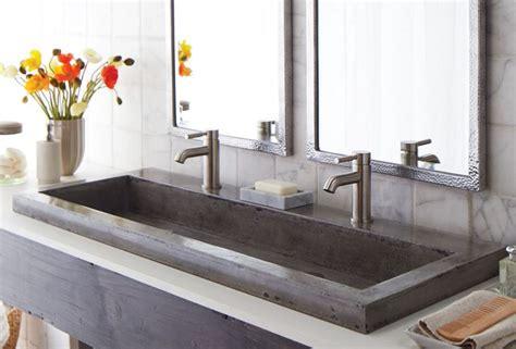 long undermount bathroom sink 1000 ideas about trough sink on pinterest farmhouse