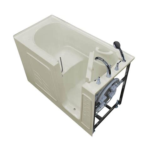 home depot walk in bathtub universal tubs 5 ft right drain walk in bathtub in