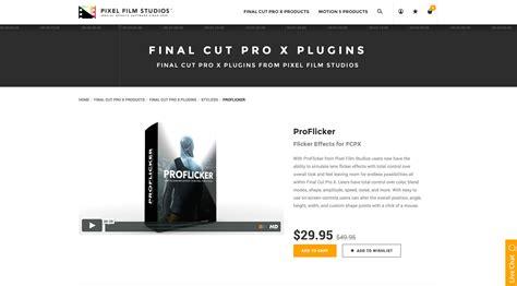 final cut pro zac flicker free final cut pro x download