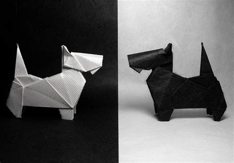 dogs in origami 30 breeds from terriers to hounds books origami scottish terriers for inspiration scottish