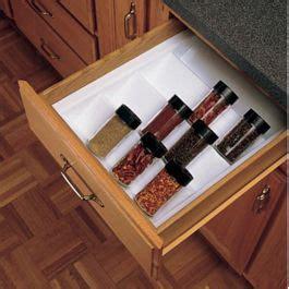 kitchen drawer organizer spice tray insert rev  shelf st