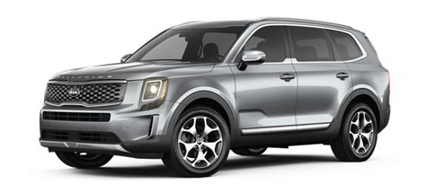 Kia Ex 2020 by 2020 Kia Telluride Ex Everlasting Silver Side View O