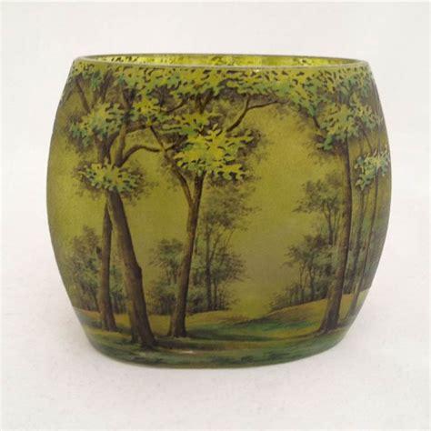 Vase Daum by Cameo Glass Daum Nancy Daum A Daum Nancy Cameo Glass Vase
