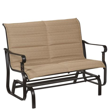 Glider Patio Chair Metal Patio Furniture Outdoor Gliders Patio Chairs Patio Furniture Outdoors The Home Depot