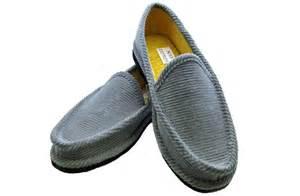 corduroy house shoes house slipper back gray