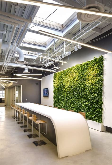 refreshing indoor office garden installation ideas