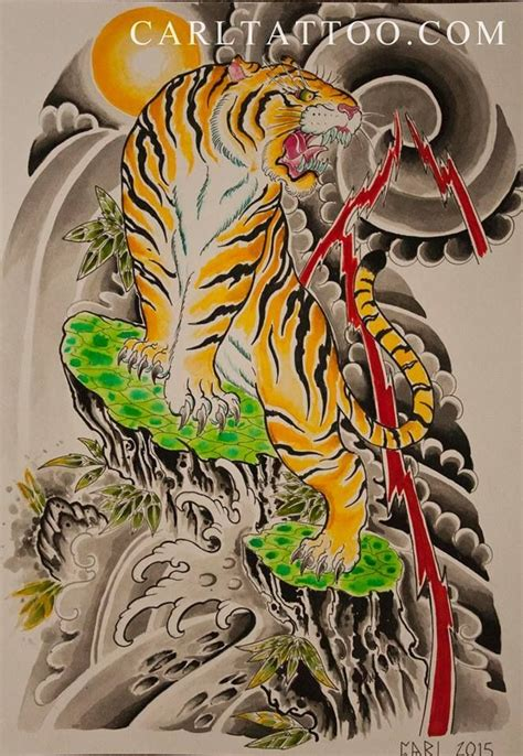 japanese style tiger tattoo designs 53 japanese tiger tattoos and ideas