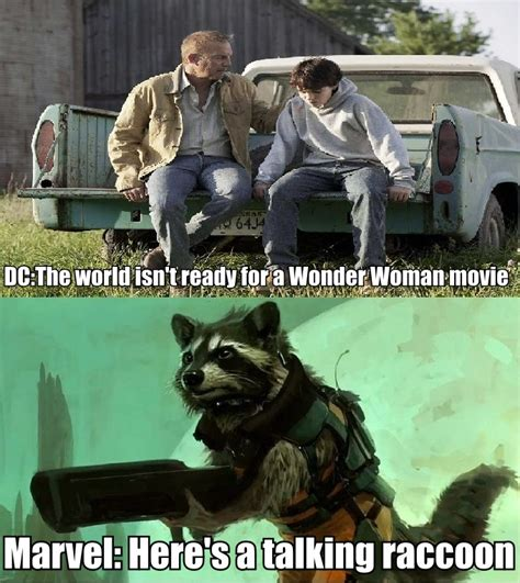 Guardians Of The Galaxy Memes - your wonder woman rocket raccoon post is still missing