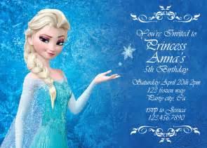 disney frozen birthday invitations gangcraft net
