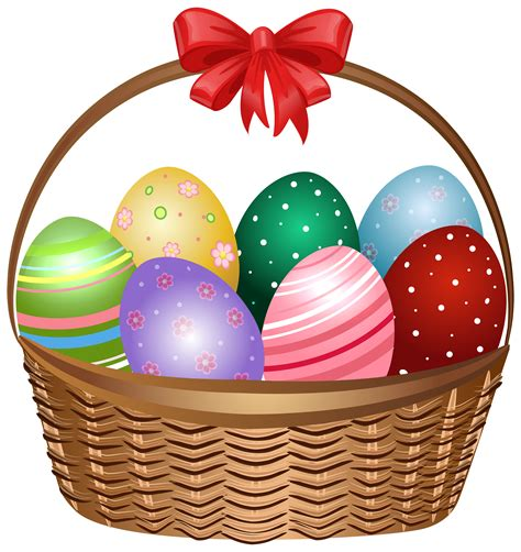 easter basket easter basket clip free clipart best