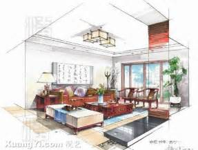 interior design drawing furniture artistic interior drawings sketches living room