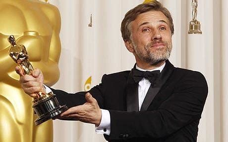 film oscar award oscars 2010 christoph waltz wins best supporting actor