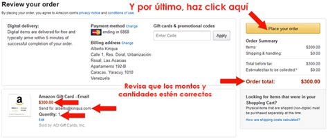 Que Es La Gift Card De Amazon - como comprar una gift card en amazon gu 205 a r 193 pida