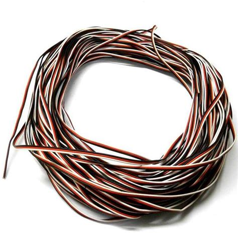 Extension I Extention 100cm Onemed futaba extension lead wire flat 1m 100cm 1000mm 26awg blacksmithproducts