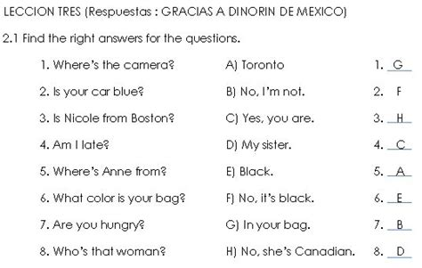 ejercicios de preguntas basicas en ingles question words with the verb to be preguntas con el verbo