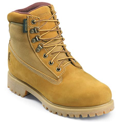 wide work boots for chippewa s 6 in nubuc work boots wide width