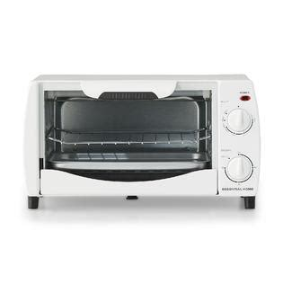 Essential Home 4 Slice Toaster Oven essential home mg10dp 4 slice toaster oven