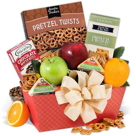 get well gift basket for men by gourmetgiftbaskets com