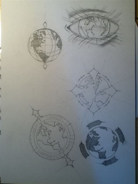 globe tattoo online help sketching globe tattoo ideas by simsons on deviantart