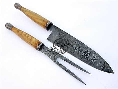 damascus kitchen knives damascus chef knives set custom handmade damascus steel
