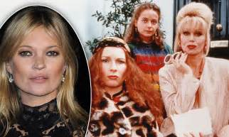 Absolutely Fabulous Fabsugar Want Need 35 by Kate Moss In Absolutely Fabulous With Filming