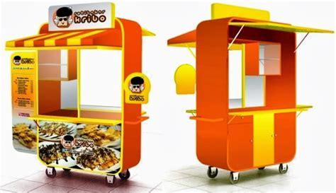 desain gerobak dagang gerobak roti bakar kribo r 5 800 000 jasa pembuatan