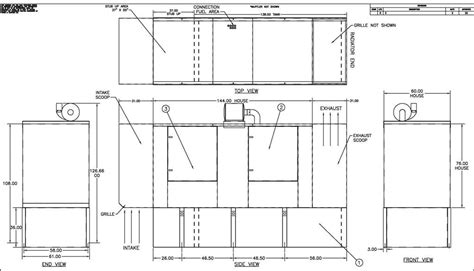 Drawing Generator by Wooden Generator Drawings Pdf Plans