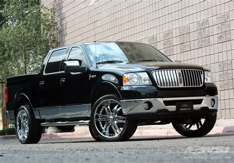 lincoln lt on 24 rims 2007 lincoln lt with 24 quot giovanna caracas in chrome