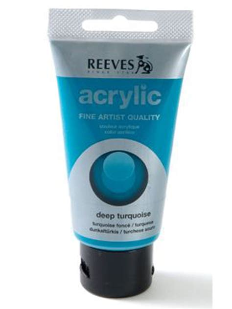 acrylic paint reeves papertree reeves acrylic paint turquoise