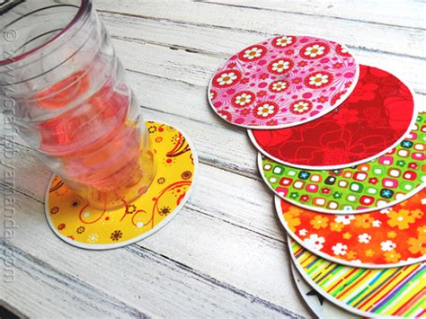 recycled cd crafts for recycle craft cd coasters crafts by amanda