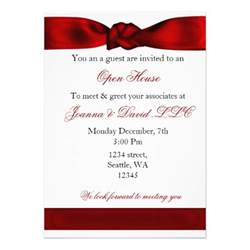 corporate birthday invitation wording corporate invitation 5 quot x 7 quot invitation card zazzle