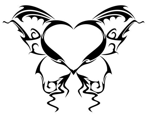 butterfly and heart tattoos tattoos designs ideas and meaning tattoos for you