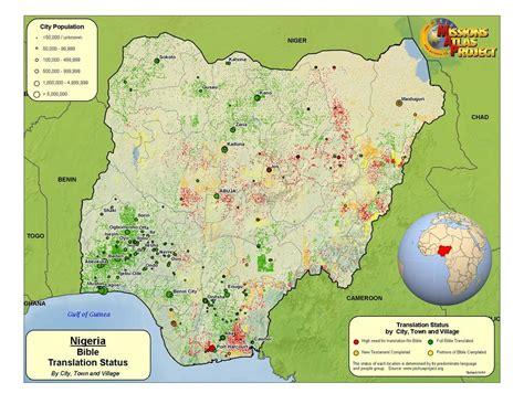 where is nigeria on a world map nigeria worldmap org