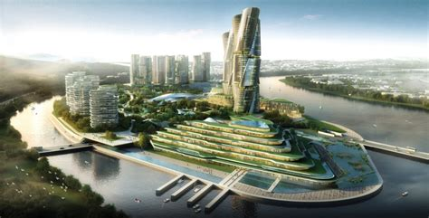 Green House Plans by China Green Building Supported In Real Estate Development