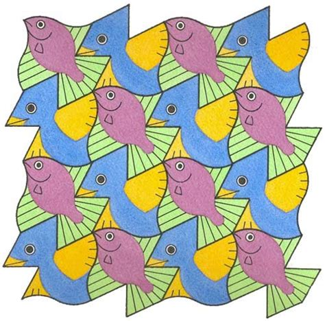 birds and fish 1 david bailey s world of escher like